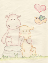 Hippos in Love!